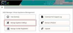 NSX-manager-settings